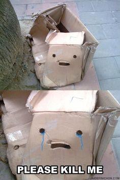 Sad box is sad.