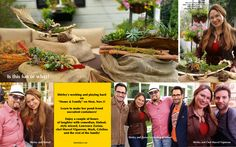 Just when I thought I couldn't have more fun at work…. these talented guys dropped in at Home & Family. Comedian, Sinbad, style guru, Lawrence Zarian and Chef Marcel Vigneron!  Watch on Monday, 10am pst on Hallmark Channel USA Thank you Proven Winners for your Savvy Succulents!