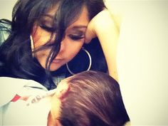 Snooki Snuggles With Baby Lorenzo #snooki #baby