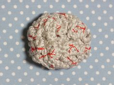 #Crochet brains brooch free pattern from @molliemakes for Halloween