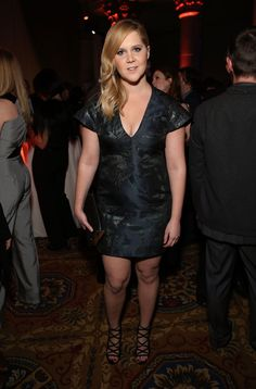 Amy Schumer Responds to a Critic Who Called Her Chubby in the Best Way Ever