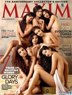 Maxim India – Enero (2013) - PDF Magazine Free