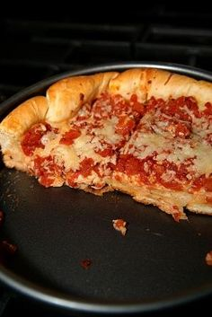 Chicago Style Deep Dish Pizza on MyRecipeMagic.com