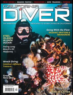 California Diver Magazine is dedicated to the sport of scuba and skin diving in California and the Western United States. Every issue is packed with information on dive training, dive sites, wreck diving, freediving, dive club events, great new gear, dive travel, and much more.