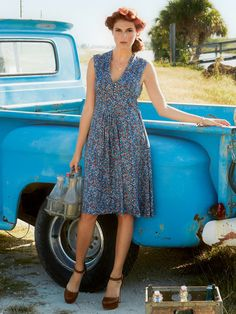 country dress | Burda Style