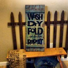 laundri sign, wash dri, dri fold, laundri room