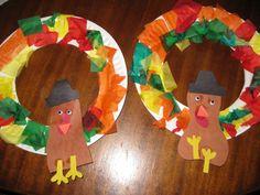 cute turkey wreaths!!!