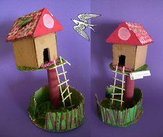 Tree House - Cardboard