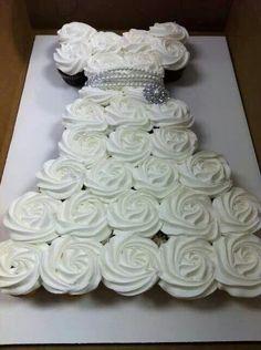 Cupcake wedding dress ♥