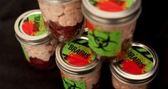 canned party favors