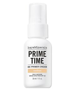 The Best Long-Lasting Products to Beat Daylight Savings - Bare Escentuals Prime Time BB Primer Cream from #InStyle