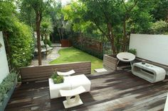 Jardin minimalista.