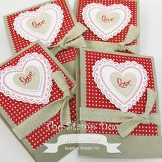 Tutorial: Matchbook Valentine Treat
