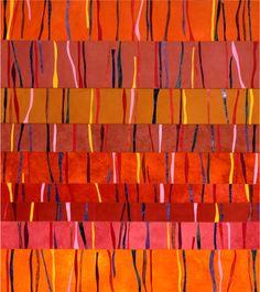 Art Quilts - Horizontal Stripes
