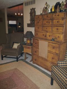 . cabinet, drawer chest, christma