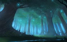 A Forest by *Blinck on deviantART