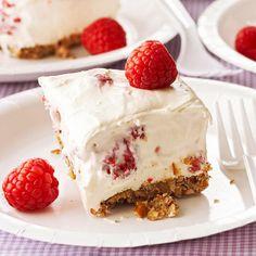 Raspberry-White Chocolate Dessert Squares