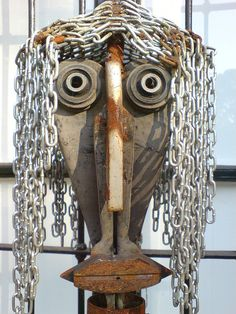 Metal Junk Sculpture, via Flickr.