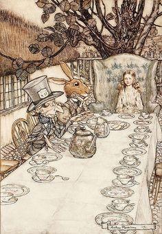 Alice, Arthur Rackham