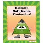 Free Halloween Multiplication 5-in-a-Row!  Halloween Multiplication 5-in-a-Row is a fun way to learn multiplication facts. Students take turns roll...