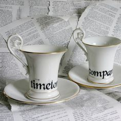Timelord and Companion Teacup