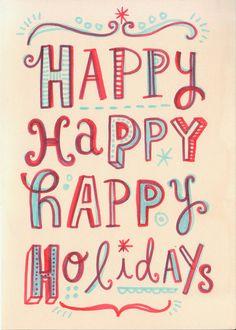 happy Happy by Linzie Hunter, via Flickr