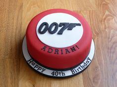 James Bond Cake | Flickr: Intercambio de fotos james bond cake, idea, cakes, cake order, dad cake, jame bond