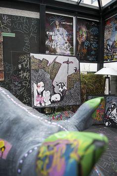 L'art de Skunk Dog au New Hotel of Marseille