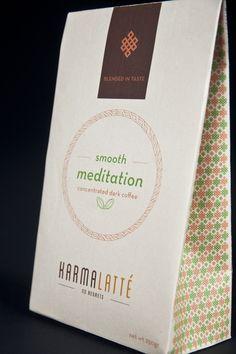 Karmalatté   Packaging by Stephanie Sue Choza Macre, via Behance