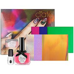 Get #AwardWinning #Beauty -Ciaté Very Colourfoil Manicure™ in Carnival Couture.  #Sephora #Awards #RedCarpetBeauty