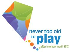You're never too old to play - especially on a Friday, right? Check out the new Older Americans Month materials from the Administration on Aging: http://1.usa.gov/wBv290. This year's theme is designed to encourage older adults to stay engaged, active, and involved.