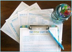The Fresh Start Kit - a simple approach to homekeeping - Clean Mama Printables