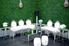 benches, green walls, season, wedding ideas, balconies, white weddings, wedding planners, garden, celebrity weddings