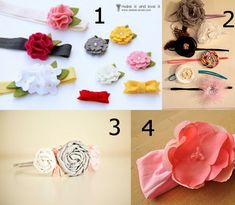 DIY baby girl headbands..I really need to get into doing these myself