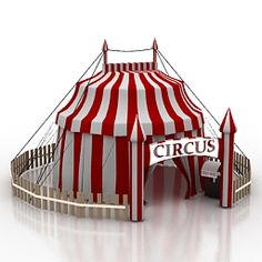 Download 3D Circus tent  archive3d.net