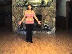 ▶ Pontoon Line Dance - Demo & Teach by Gail Smith.mpg - YouTube