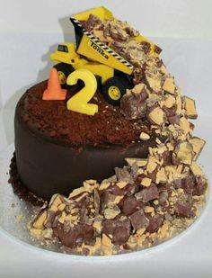 Truck cake - J's 2nd Bday