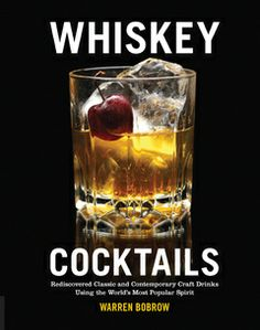 craft drink, whiskey cocktail