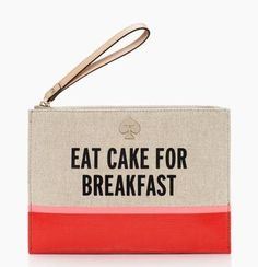 classic advice. — the word to the wise medium bella wristlet by kate spade new york (june 2014)