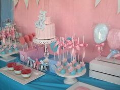 Hostess with the Mostess® - Gender Reveal Party ideas! #babyshower
