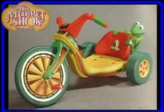 Kermit Big Wheel- I actually had one of these as a kid... I had hipster parents- Ginger