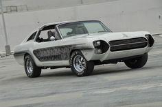 Clasp Garage: Rockstars' Garage: Frank Sinatra's Zebra Mustang by Barris