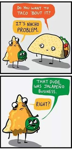 Mexican food humor! #Mexican #Food