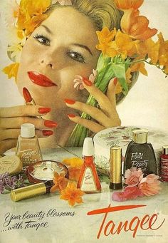 Tangee ad, 1961