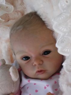 *CLARE'S BABIES* STUNNING reborn baby girl doll LIVIA by Gudrun Legler SOLD OUT! | eBay