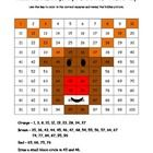 This is a fun worksheet for students to practice place value and recognizing colors and numbers on a hundreds chart. Use the key to color in the bo...