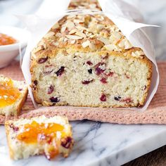 Cherry Almond Quick Bread Recipe (5 Quick but Delicious Bread Recipes)