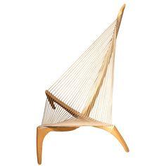 vikings, hammock chair, harp chair, chairs, chair design, ships, bows, danishes, furnitur