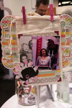 Therm O Web video - decorating wedding favor bags with photos