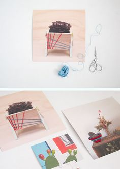 How to embroider your photos! Makes a cool artsy gift.